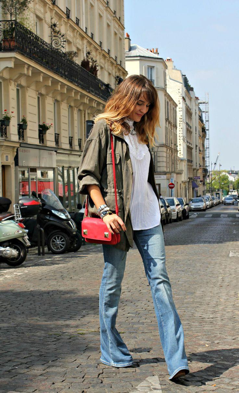 etoile kaki kaki femme tendance 2016 mode femme jean vas 2 ides pantalon aimer le la mode flared 16