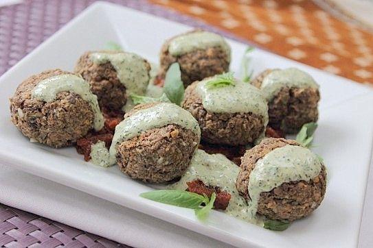 Vegan Lentil and Mushroom Meatballs! | Recipes I Like | Pinterest