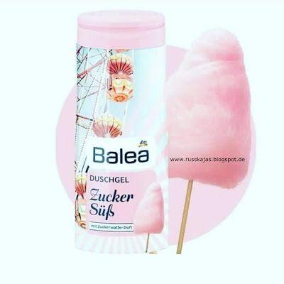 Balea Duschgel Zuckersüß mit Zuckerwatten Duft