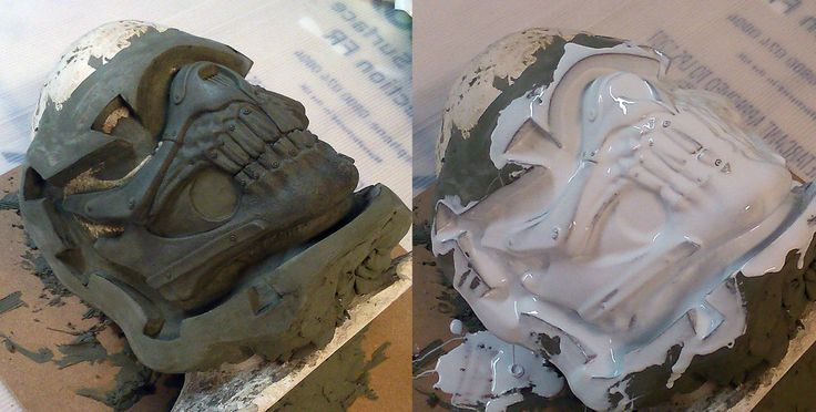 Immortan Joe's Mask - Moulding by Thomasotom