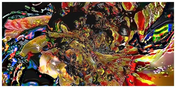 distortion spatiale du temps (Peintures numériques Galerie 2012)