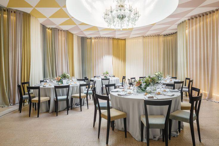 L'Abbate Italia: L'Albereta Resort - Franciacorta - Italy. Livia chair > Design Gio Ponti.