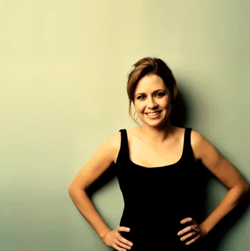 Jenna Fischer, born March 7th.