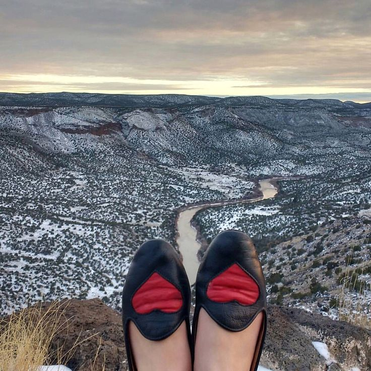 Heart slippers New Mexico