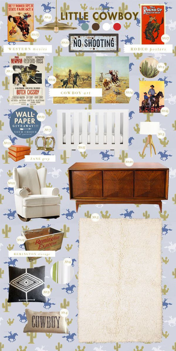 Lay Baby Lay: little cowboy,  super cute ideas for a little boy's room