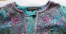 ღღ Amor  Psyche ღღ hochwertige Seiden Tunika Bluse ღღ XL D 42 44 ღღ