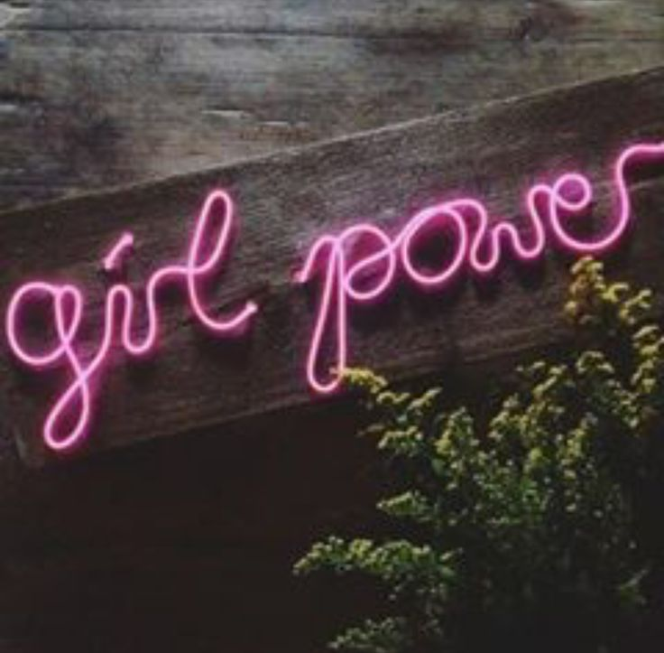 Girl Power Female empowerment Entrepreneurship Surfgirl Rad Neon Pink Inspiration You Can Do