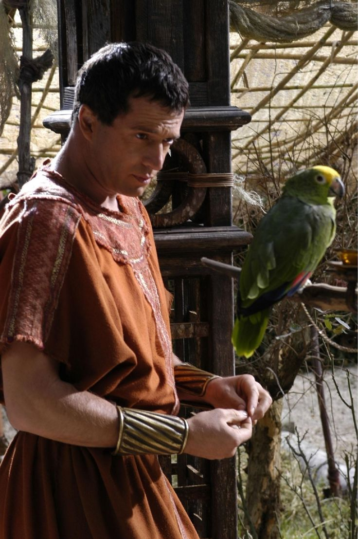 Mark Antony - James Purefoy in Rome, set between 49 BC and 31 BC (TV series 2005-2007).