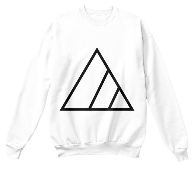 Gen Z Triangle unisex tops, multiple colors available.