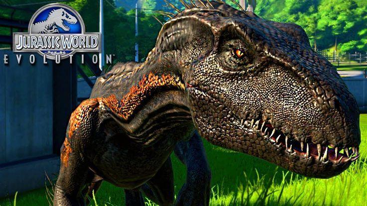 Resultado De Imagen Para Jurassic World Evolution Indoraptor Jurassic World Dinosaurs Jurassic World Jurassic Park World