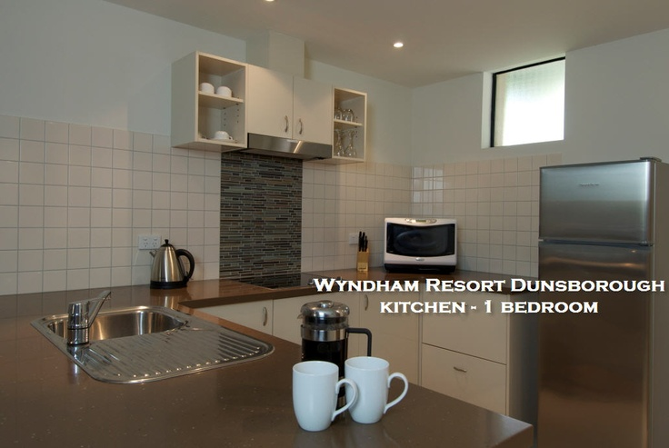Well appointed kitchen - 1 Bedroom apartment.