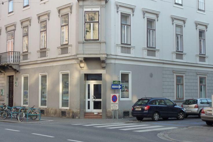 Heinrichstraße 10/Ecke Villefortgasse: Einst schwamm hier Fangfrisches aus allen Gewässern bei Fisch Berger.