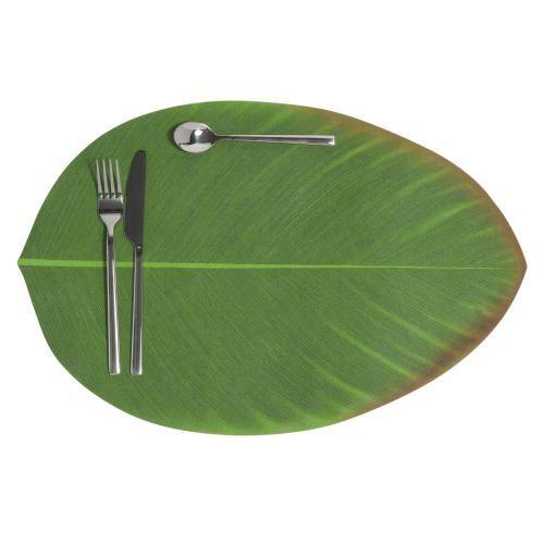 Tovaglietta foglia verde 31 x 47 cm BANANIER