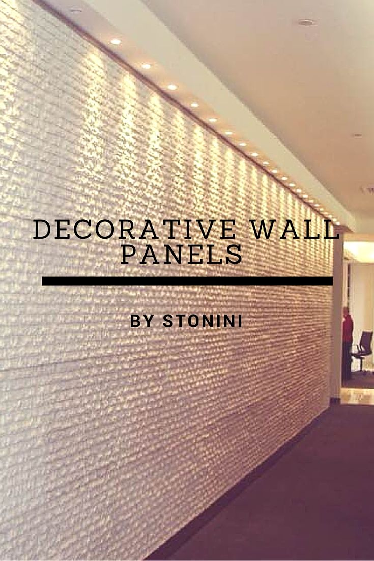Sick of your plane white walls? Add character & sophistication with decorative wall panels by Stonini.