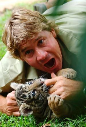 Steve Irwin; My absolute favorite growing up. You could tell how much he enjoyed life and how much he loved what he did. Kinda crazy but also inspirational.