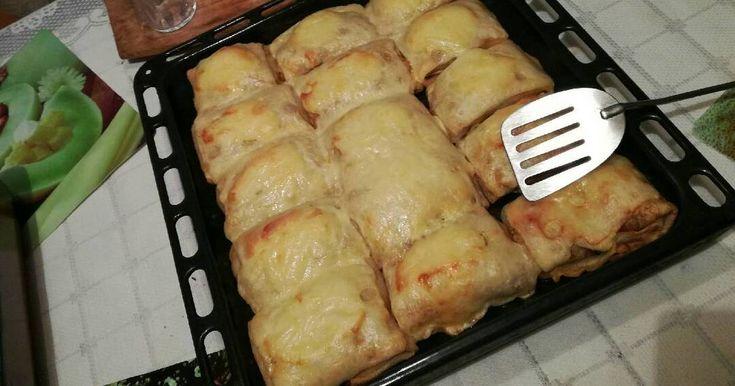 Mennyei Bolognai húsos palacsinta recept! Egy olasz recept alapján készült étel, amelyet hazai ízekkel egészítettem ki! :)
