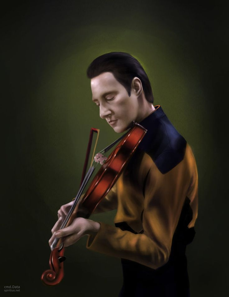 I love this android. Data - Star Trek: The Next Generation - Anna Khlystova