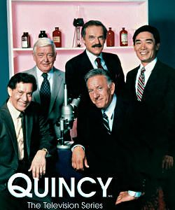 Quincy Our favourite, favourite TV Series. We loved watching it after work. :) :)