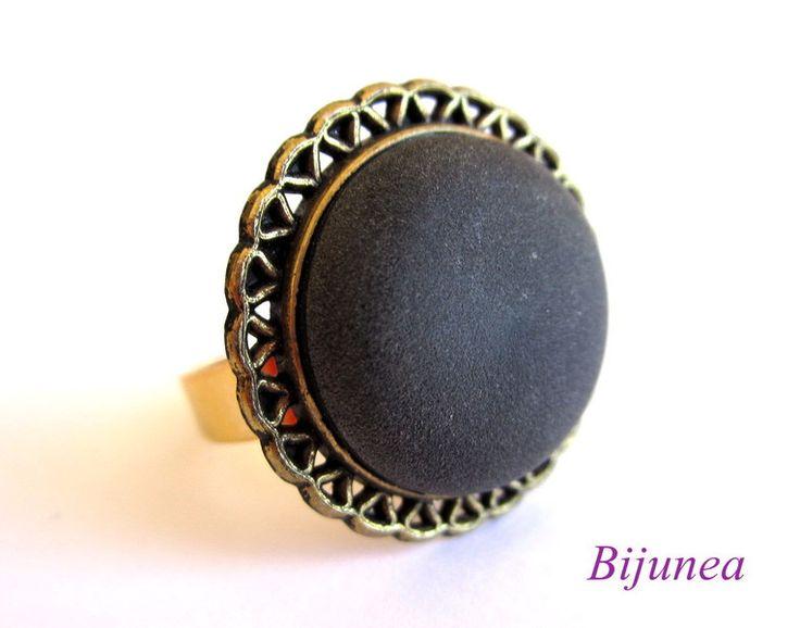 Złoty pierścionek r719 =)  w Bijunea na DaWanda.com