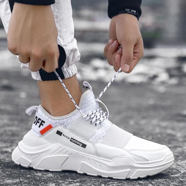 Fashion Light Sport Sneaker Menleads Sneakers Fashion Sneakers Fashion Outfits Trendy Shoes