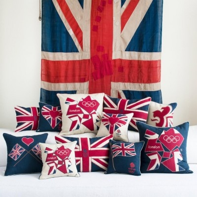 Jan Constantine Official London 2012 Olympic Cushions