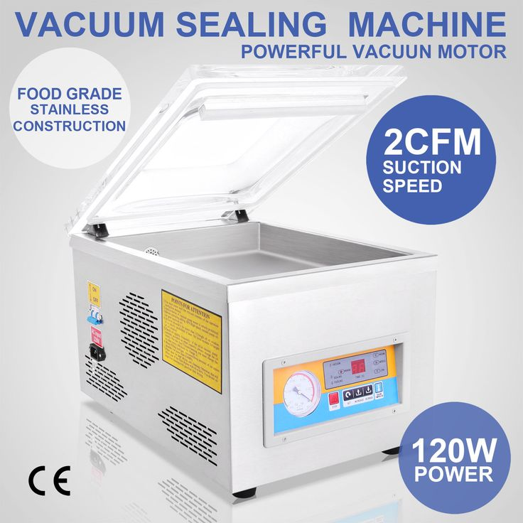 Mil Commercial Vacuum Sealer System Food Sealing Machine Kitchen Storage Packing