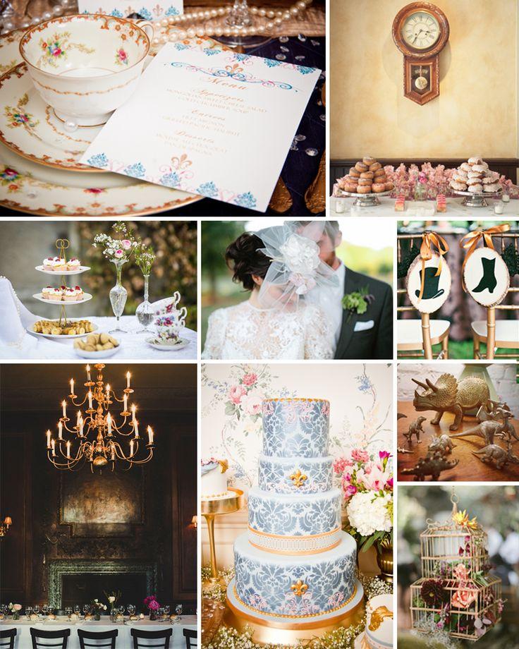 Victorian Wedding Themes Inspiration Plus A Dinosaur