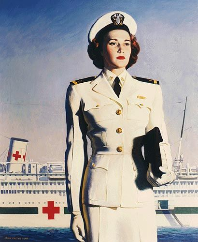 magazine ads of beautiful women in the1930s | this simple effective U.S. Navy Nurse Recruiting Poster; a beautiful ...