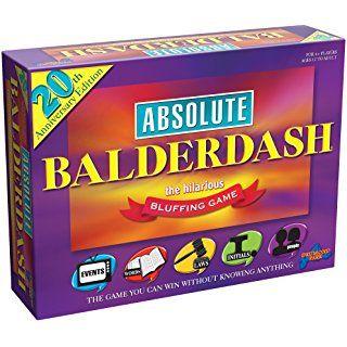 DRUMOND PARK 20TH ANIVERSARY ABSOLUTE BALDERDASH BLUFFING GAME NEW by Drumond Park