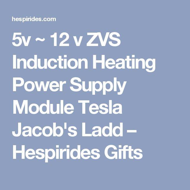 5v ~ 12 v ZVS Induction Heating Power Supply Module Tesla Jacob's Ladd – Hespirides Gifts