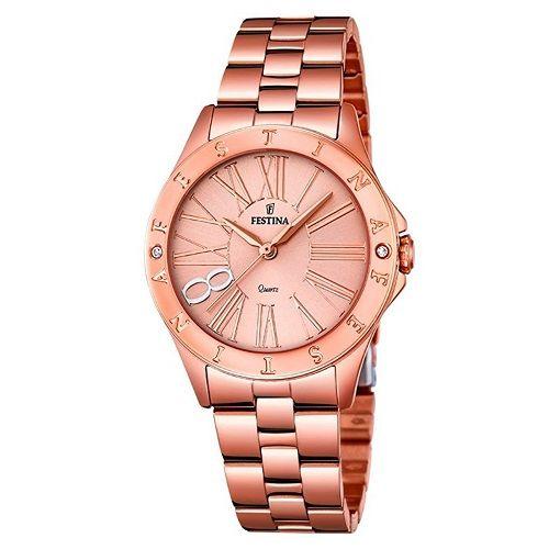 Relógio Festina Feminino Aço Rosé - F16926/2