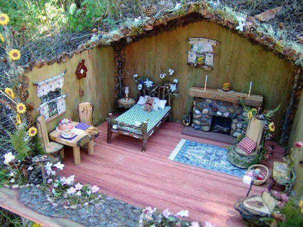 Миниатюрная мебель для феи. и другие идеи. / Болталка / Разговоры на любые темы