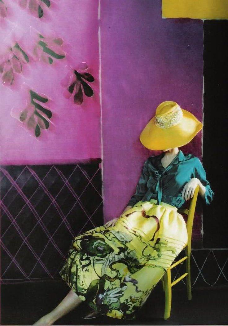 edithshead: from ExtravaganzaSuvi Koponen by Javier Vallhonratfor Vogue Portugal