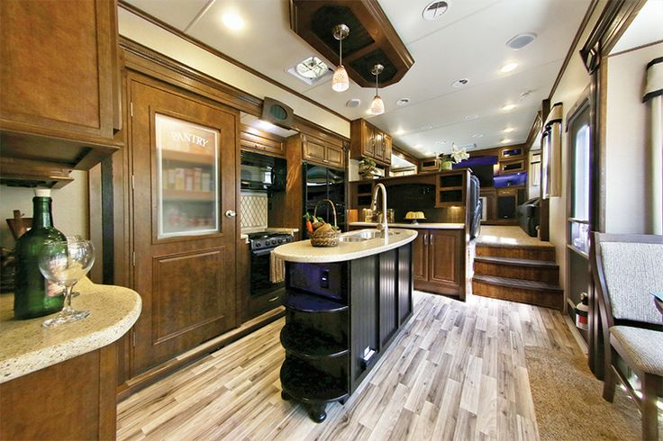 Solitude Fifth-Wheel 379FL Gallery   Grand Design RV. Same 5th wheel...the kitchen.  Insane!