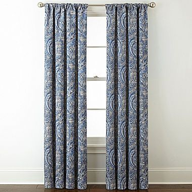 FREE SHIPPING AVAILABLE! Buy Royal Velvet Florence Room Darkening Rod-Pocket Back-Tab Curtain Panel at JCPenney.com today and enjoy great savings. Available Online Only!