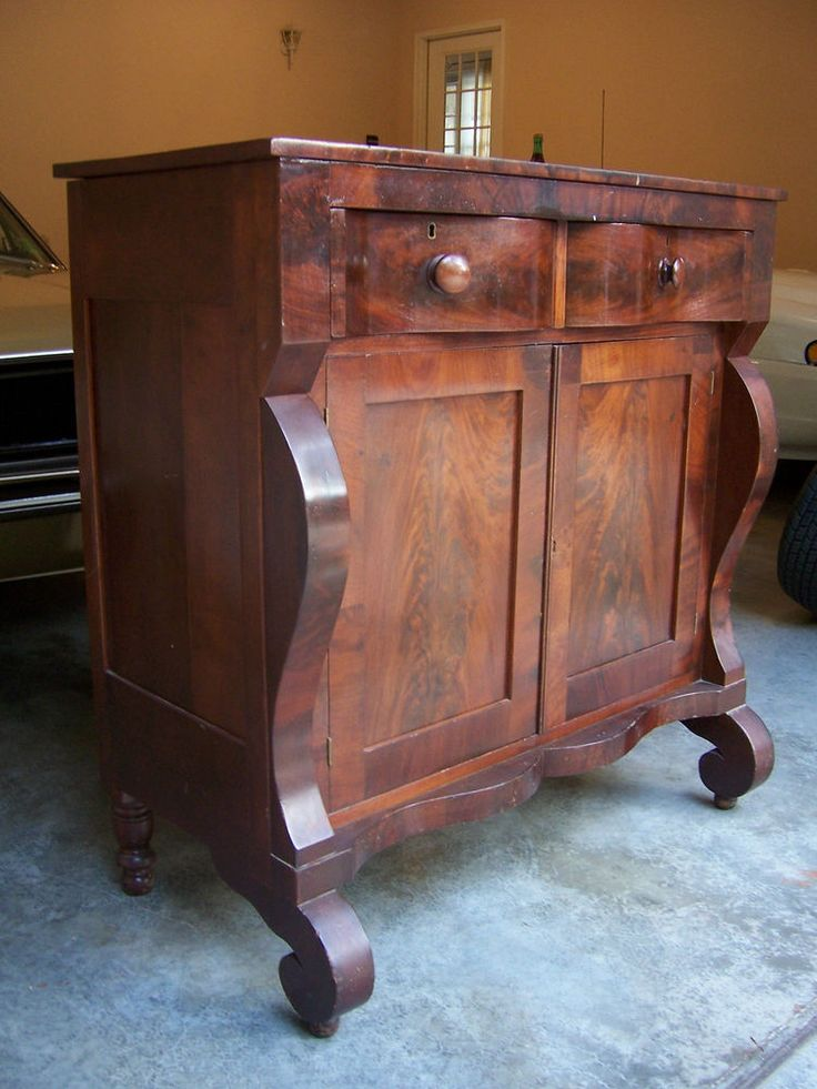 Beautiful Circa 1830 1840 Antique American Empire Buffet Server Flame  Mahogany. 1107 best Furniture images on Pinterest   Antique furniture