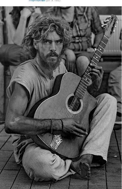 Street Musician - Istıklal Cd., Beyoğlu, Istanbul