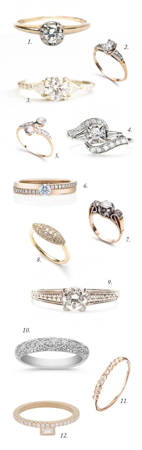 Que Lindos!!!  #aneldenoivado #noivas #casamento #casare #sitesdecasamento