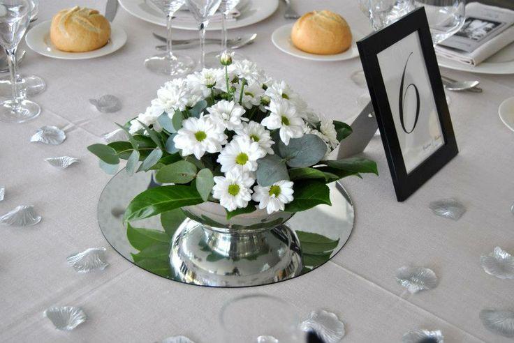 Centro de mesa, bodas Casa Setién.