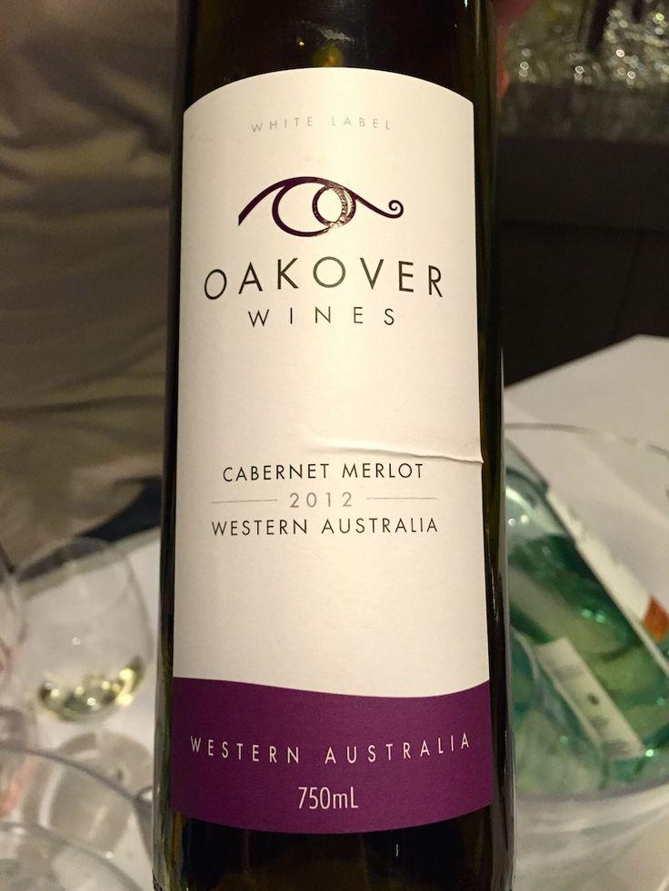 Oakover Wines 2012 Cabernet Merlot - Swan Valley