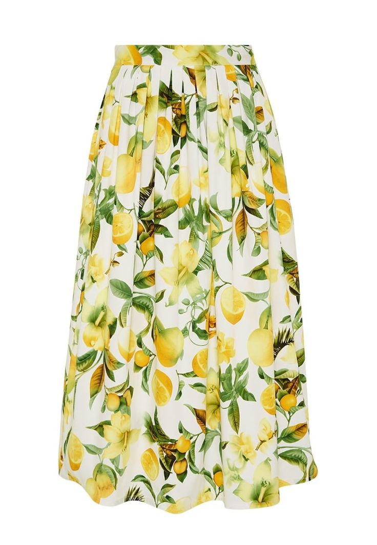 HALLHUBER Maxirock yellow Bekleidung bei Zalando.de | Material Oberstoff: 98% Baumwolle, 2% Elasthan | Bekleidung jetzt versandkostenfrei bei Zalando.de bestellen!