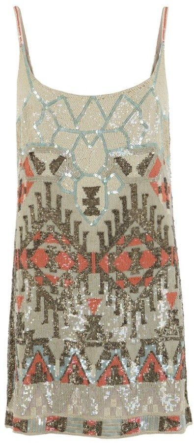 All Saints Aztec dress - Click image to find more Women's Fashion Pinterest pins