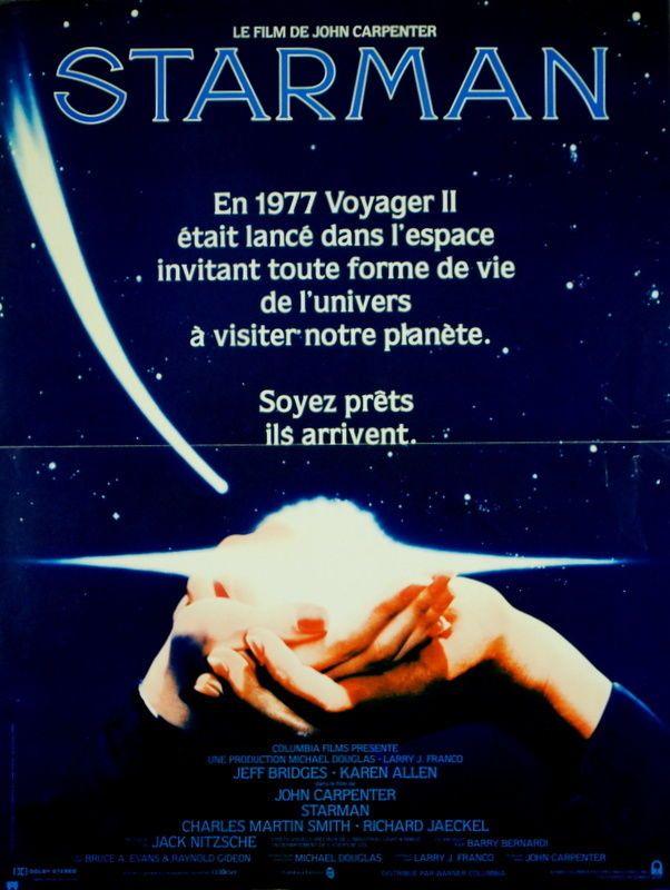 Jeff Bridges Karen Allen Starman John Carpenter 1984 40x60 | eBay