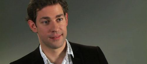 When he smiled like this.   34 Times John Krasinski Was The Most Perfect Man Alive