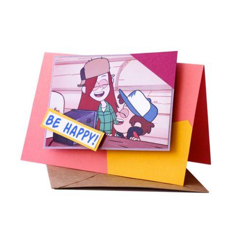 Необычное от @razverni   Забыли что такое почтовые открытки? Не отправляли их сто лет, пришла пора исправляться, тем более, что с таким напутствием вы не прослывете старомодным, даже наоборот. Открытка Диппер и Венди https://razverni.com/catalog/goods/otkrytka-dipper-i-vendi/