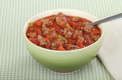 Healthy and spicy Chili con carne