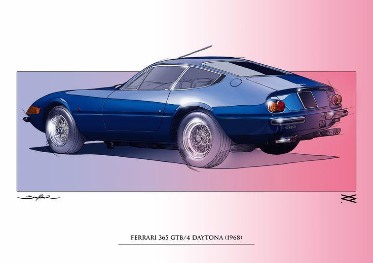 FERRARI 365 GTB-4 DAYTONA 1968