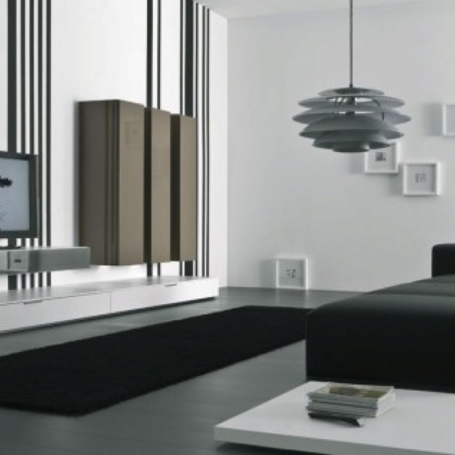 Inspiring Black And White Living Room Designs Winsome Ideas With Desk TV Cabinets Sectional Sofa Also Square