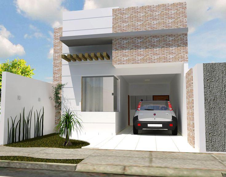 Fachadas de Casas e Muros - veja modelos e dicas! - Pesquisa Google