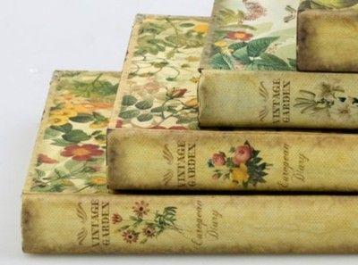 """""""Vintage Garden"""" books..."""